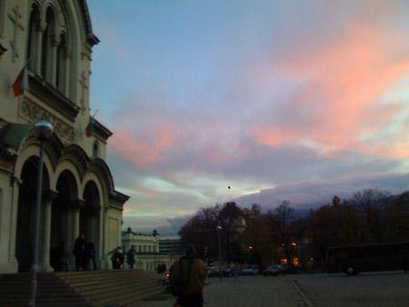 the aleksandr nevsky cathedral, i think